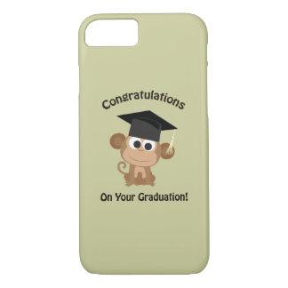 gelukwensen op uw afstuderenaap iPhone 7 hoesje