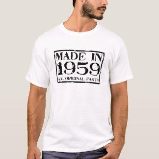 Gemaakt in 1959 alle originele delen t shirt