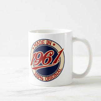 Gemaakt in 1961 koffiemok