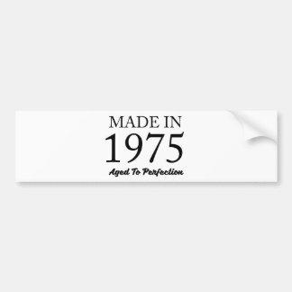 Gemaakt in 1975 bumpersticker