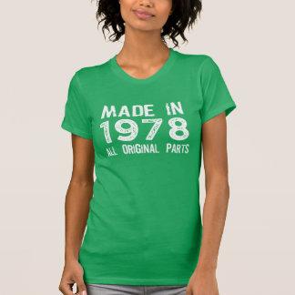 GEMAAKT in 1978 Al ORIGINEEL T-shirt van Delen