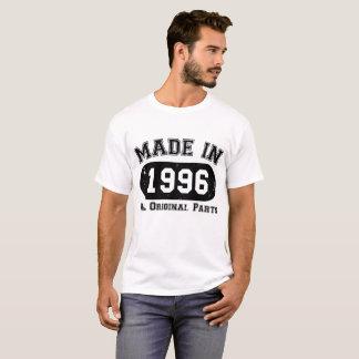 Gemaakt in 1996 Alle Originele Delen 21ste Twintig T Shirt