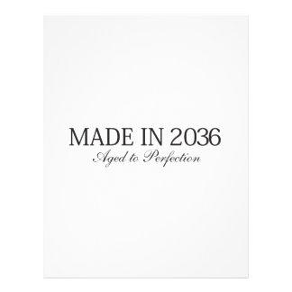 Gemaakt in 2036 fullcolor folder
