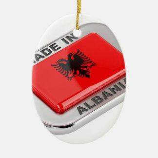 Gemaakt in Albanië Keramisch Ovaal Ornament