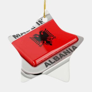 Gemaakt in Albanië Keramisch Ster Ornament