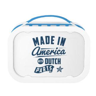 Gemaakt in Amerika met Nederlandse Delen Lunchbox