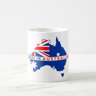 gemaakt in Australië het etiket van het de Koffiemok