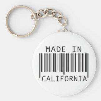 Gemaakt in Californië Sleutelhanger