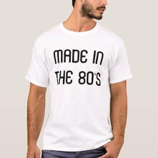 Gemaakt in de jaren '80 t shirt