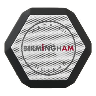 Gemaakt in de Sprekers van Birmingham Zwarte Bluetooth Speaker