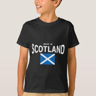 Gemaakt in de T-shirt van Schotland Saltire