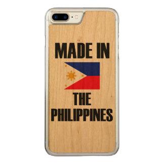 Gemaakt in de Vlag van Filippijnen Carved iPhone 7 Plus Hoesje