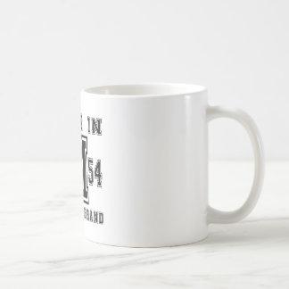 GEMAAKT IN DESIGN VAN DE VERJAARDAG VAN HET MERK KOFFIEMOK