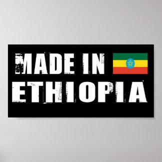 Gemaakt in Ethiopië Poster
