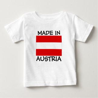 Gemaakt in het babyoverhemd van Oostenrijk Baby T Shirts