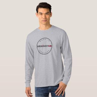 Gemaakt in het Lange Sleeve van Birmingham T Shirt