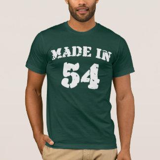 Gemaakt in het Overhemd van 1954 T Shirt