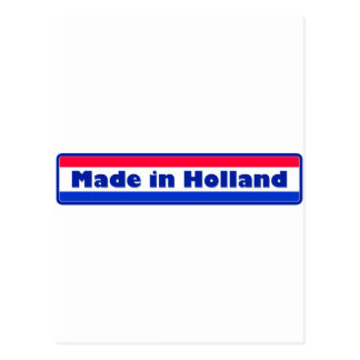 Gemaakt in Holland Briefkaart