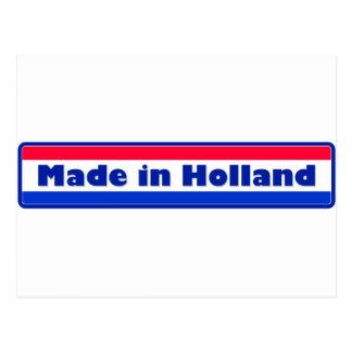 Gemaakt in Holland Briefkaart