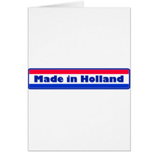 Gemaakt in Holland Briefkaarten 0