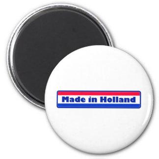 Gemaakt in Holland Ronde Magneet 5,7 Cm