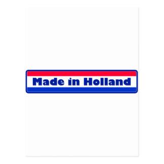 Gemaakt in Holland Wens Kaart