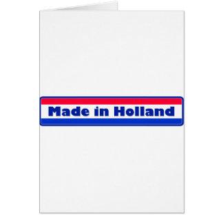 Gemaakt in Holland Wenskaart