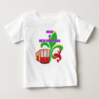 Gemaakt in New Orleans Baby T Shirts