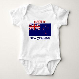 Gemaakt in Nieuw Zeeland met de Vlag van Nieuw Romper