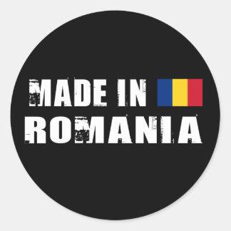 Gemaakt in Roemenië Ronde Sticker