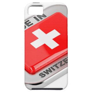Gemaakt in Zwitserland Tough iPhone 5 Hoesje
