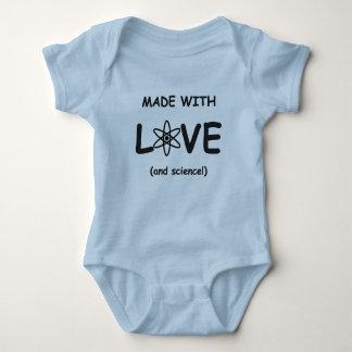 Gemaakt met Bodysuit van het Baby van de Liefde