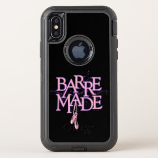 Gemaakte staaf (Dans) OtterBox Defender iPhone X Hoesje