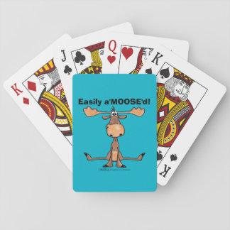 """Gemakkelijk A'Moose """" D Speelkaarten"""
