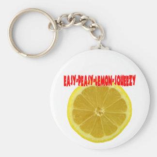 Gemakkelijk-Peasy-citroen-Squeezy Sleutelhanger