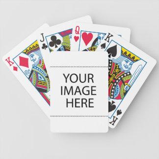 gemakkelijk woord in brieven van brand op een pak kaarten