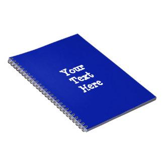 Gemakkelijke de spatie van de sjabloon voegt de ringband notitieboek