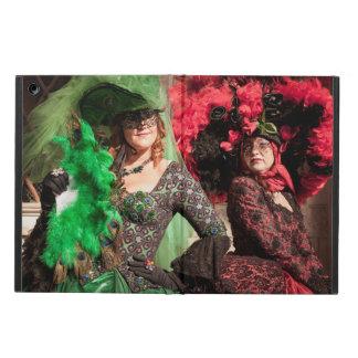 Gemaskeerde vrouwen tijdens Venetië Carnaval iPad Air Hoesje