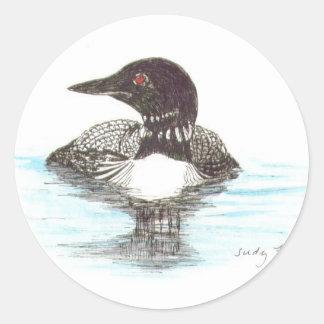 Gemeenschappelijke Duiker Ronde Sticker