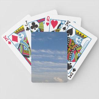 Gemengde Wolken Bicycle Speelkaarten