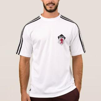 Gemerkte de t-shirt van AUFA Adidas Climalite