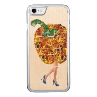 Gemmen van Gele Groene paprika Carved iPhone 8/7 Hoesje