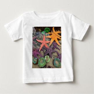 Gemmen van het zee baby t shirts