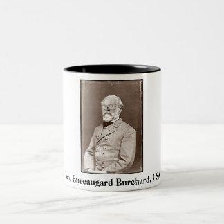 Gen. Bureaugard Burchard, CSA, Gen. Bureaugard… Tweekleurige Koffiemok
