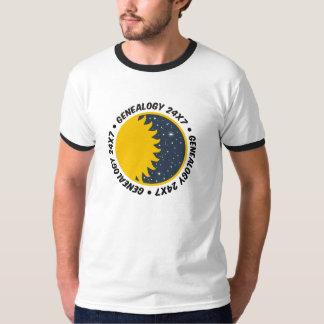 Genealogie 24x7 t shirt