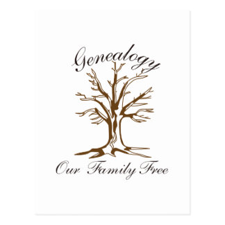 Genealogie Briefkaart