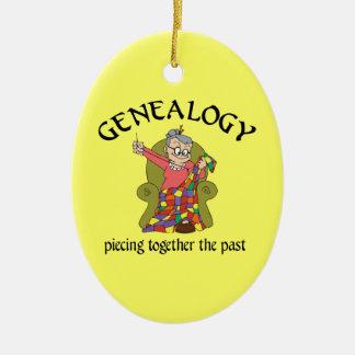 Genealogie die het Afgelopen Ornament samenvoegen
