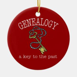 Genealogie een Sleutel tot het Afgelopen Ornament