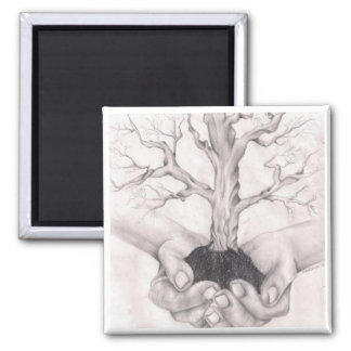 Genealogie & Familiegeschiedenis Vierkante Magneet