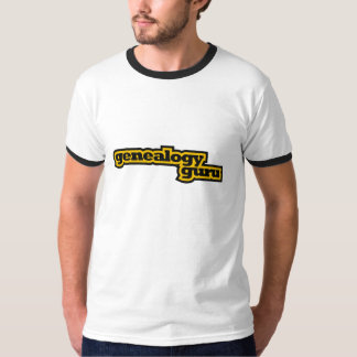 Genealogie Guru T Shirt